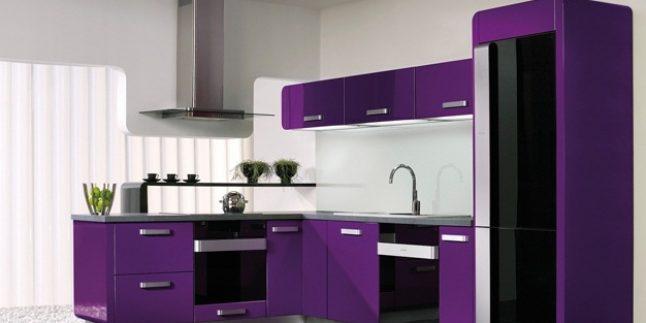 Mor Renk İç Mekan Dekorasyon Örnekleri