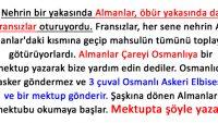Osmanlıdan Yardım İsteyen Almanlar