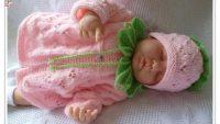 Sevimli Bebek Örgü Ceket Modelleri