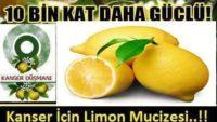Kansere Karşı Kemoterapiden 10.Bin Kat Daha Güçlü Mucizevi Limon