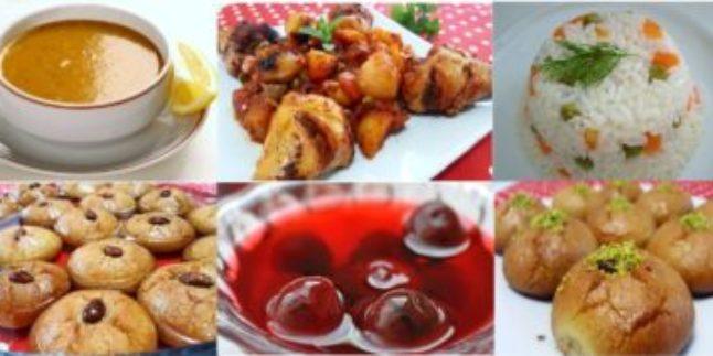 Ramazanın İkinci Gün Menüsü