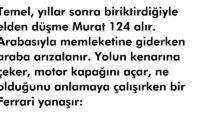 Murat 124 Yol İstiyor