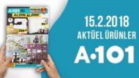 A101 15 Şubat 2018 Aktüel Ürünler Kataloğu