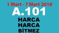 A101 Aktüel 1 Mart – 7 Mart 2018 (A101 Aktüel Ürünler Kataloğu)