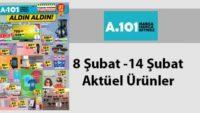 A101 aktüel 8 Şubat – 14 Şubat 2018 aktüel ürünler indirim kataloğu yayınlandı