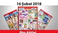 Bim aktüel 16 Şubat 2018 aktüel ürünleri kataloğu duyuruldu
