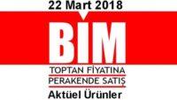 Bim Aktüel 22 Mart 2018 Aktüel Ürünler İndirim Kataloğu