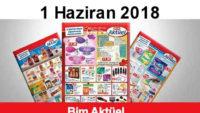 Bim Aktüel 1 – 7 Haziran 2018 Aktüel Ürün İndirimler Kataloğu Yayınlandı