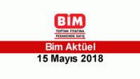 Bim 15 – 21 Mayıs 2018 Aktüel İndirimler Kataloğu Yayınlandı