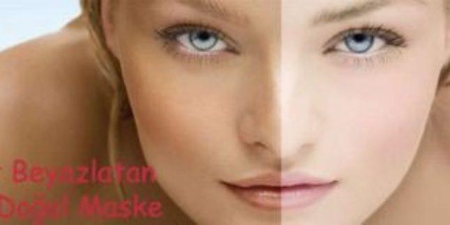 10 Dakikada Cilt Beyazlatma – Porselen Gibi Beyaz Cilt İçin Doğal Maske