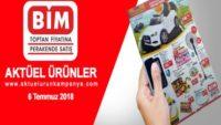 Bim 6 Temmuz 2018 Aktüel Ürünler Kataloğu