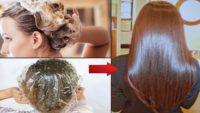 Ev Yapımı Saç Maskesi İle Saçlarınız Işıldasın Dökülmesin ve Kepeklenmesin %100 Garantili