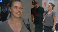 4 Ay önce doğum yapmıştı… Havalimanında görüntülendi!
