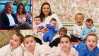 Firari iş adamı Galip Öztürk, taşıyıcı anneden olan 10 çocuğu ile İngiliz basınının gündemi oldu