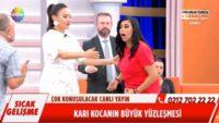 Show TV canlı yayınında aldatma kavgası: Karım dayım dedi, sevgilisi çıktı