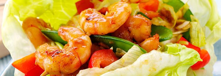 Jumbo Karides Salatası Tarifi