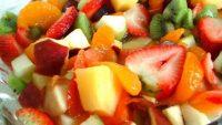 Taze Meyve Salatası Tarifi